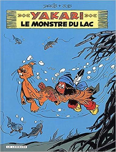 Lire un Yakari - tome 17 - Monstre du lac (Le) pdf