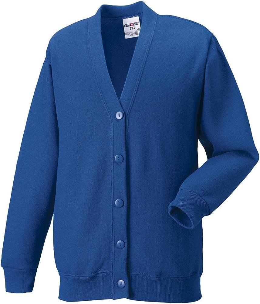 Russell Collection Sweatshirt Cardigan Mens