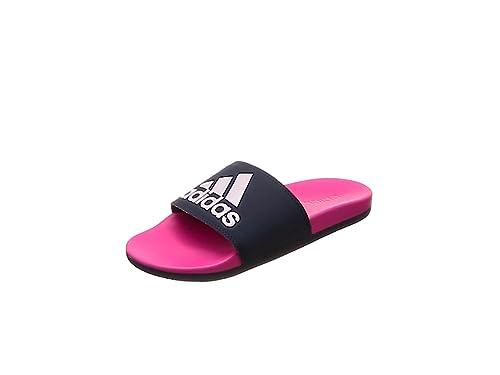 adidas Damen Adilette Cf+ Logo Aqua Schuhe