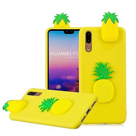 Aearl Huawei P20 Pro Custodia Carino Ananas Disegni 3d Cute Kawaii