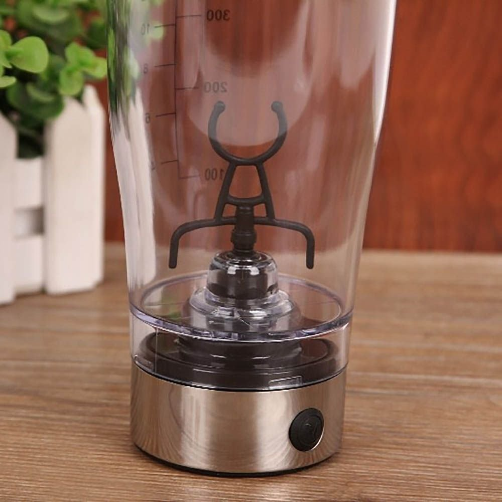 Electric Shaker Blender Water Bottle Automatic Vortex 450ml Detachable Mixer Cup by Mmrm (Image #6)