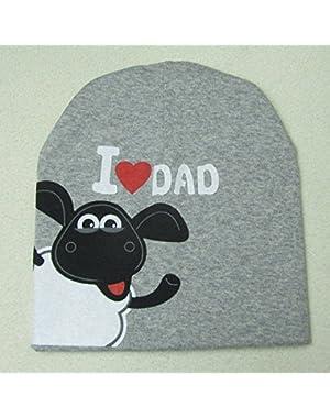 Toddler Beanie Hat - Toddler Girl Beanie - Spring Autumn Baby Knitted Warm Cotton Beanie Hat For Toddler Baby...
