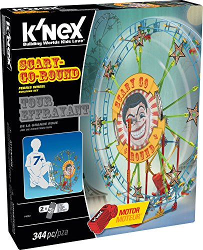 Knex Scary-Go-Round Ferris Wheel building Set With Motor