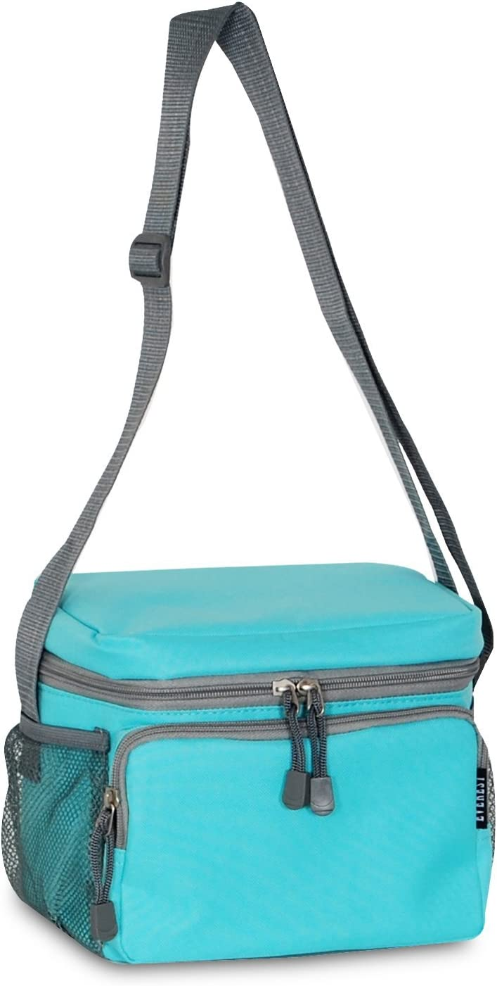Everest Cooler/Lunch Bag, Aqua Blue, One Size