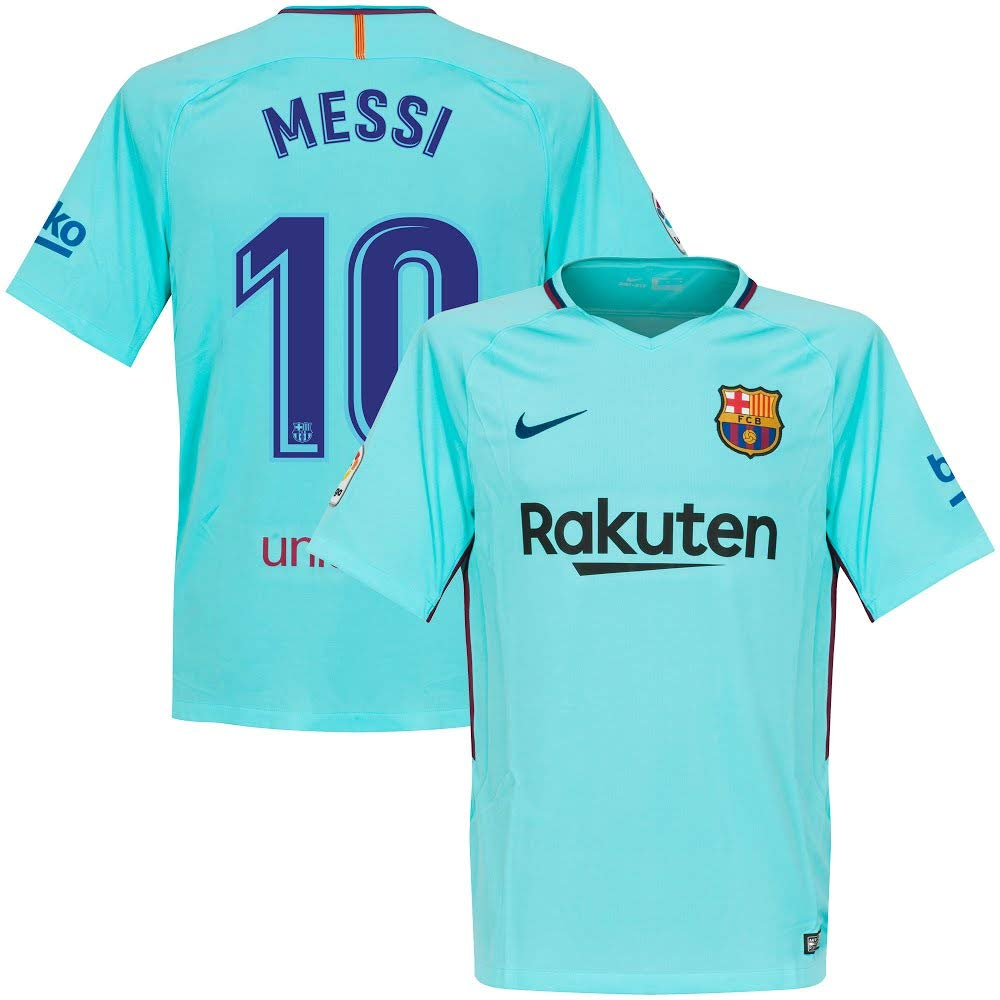 timeless design c6d5c 9e9c0 messi barcelona away shirt