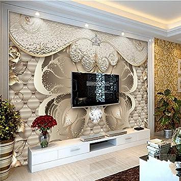 Chlwx 3d tapete Custom 3D Wall Paper Europäischen Luxus ...