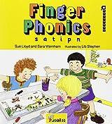Finger Phonics Book 1: s, a, t, i, p, n (Jolly Phonics)