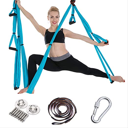 HPZN Hamaca Sky Yoga Hammock 6 gestiona la Hamaca Fitness de ...