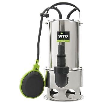 Pumpe Evakuierung Vito für Schmutzwasser 1100 W – leer Pool ...