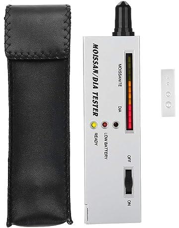 Professional Moissan Diamond Tester, LED Indicator Tester Moissanites Detector Pen Selector Precision Tool Meter Device