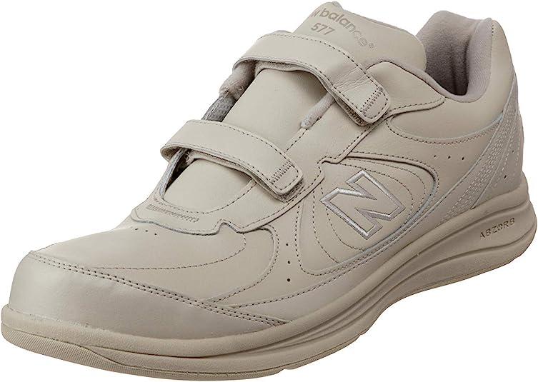 3. New Balance Men's 577 V1 Hook and Loop Walking Shoe
