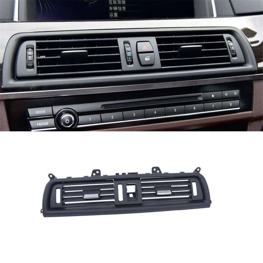ricambio aggiornato interno centrale aria cruscotto console centrale ventilazione AC per F10 Per griglia LHD Serie 5 aria condizionata anteriore F11 2010-2016
