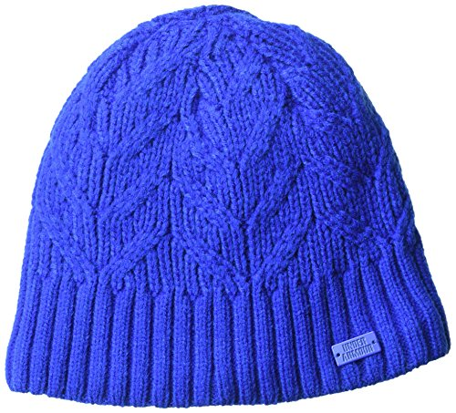 Under Armour Women's Around Town Beanie, Lapis Blue (984)/Lapis Blue, One Size