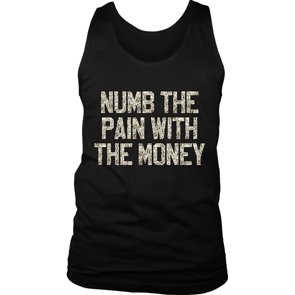 21 Savage Numb Pain With Money Issa Tank Top