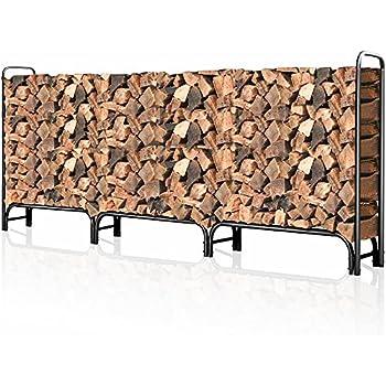 Amazon Com Landmann 82433 8 Foot Firewood Log Rack Only