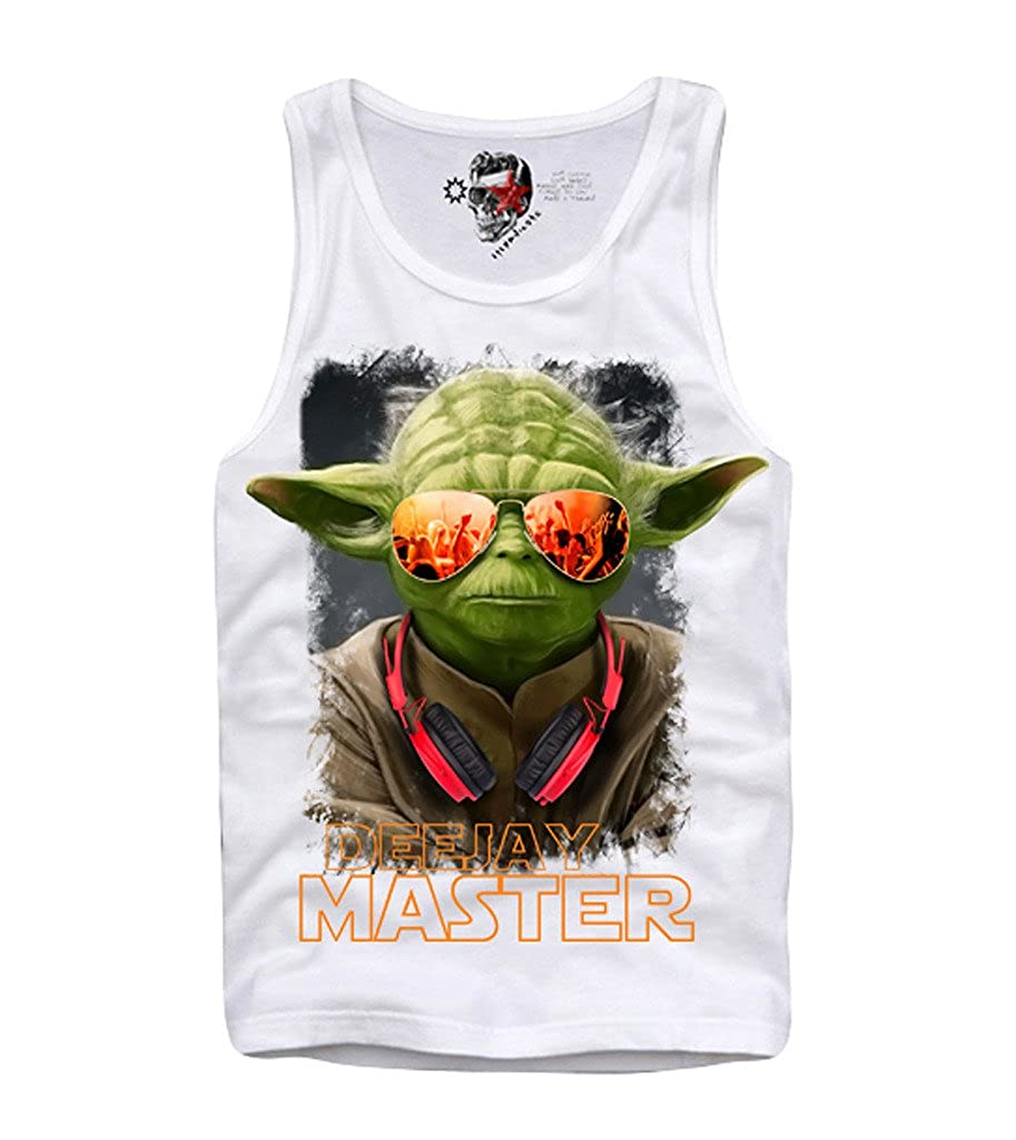 E1Syndicate Tank TOP Shirt DJ Master YODA Darth Vader Ibiza MDMA Boba S-XL