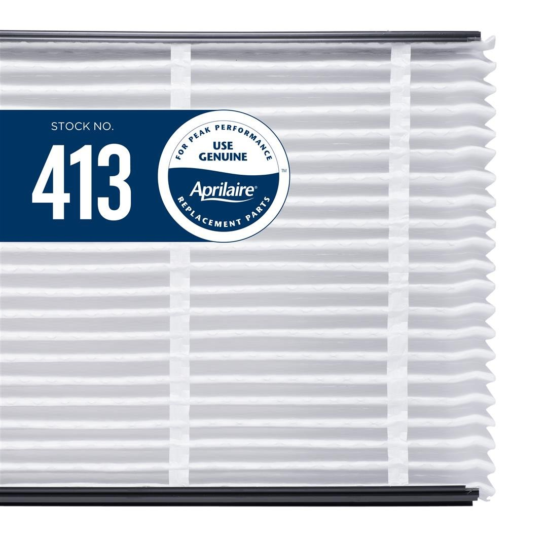 Aprilaire 413 Air Filter for Air Purifier Models 1410, 1610, 2410, 3410, 4400, 2400; Pack of 8 by Aprilaire (Image #2)