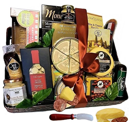 Say Cheese with Pepperoni, Sausage, Salami & More by Goldspan Gift Baskets