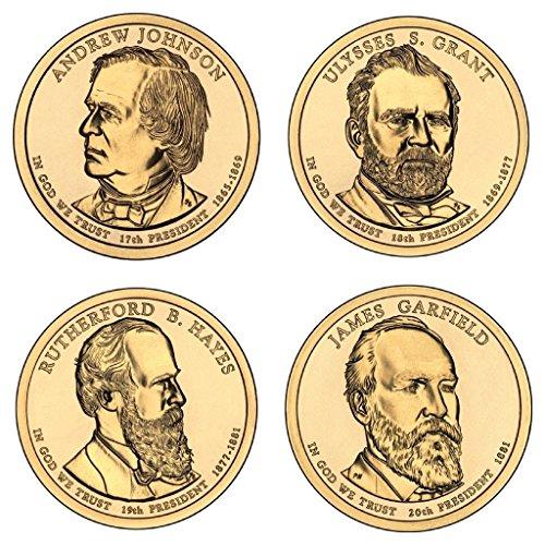 2011 D Presidential Dollar 2011 D Presidential Dollar 4-Coin P Mint Uncirculated Uncirculated (Dollar 2011 Coins Presidential)