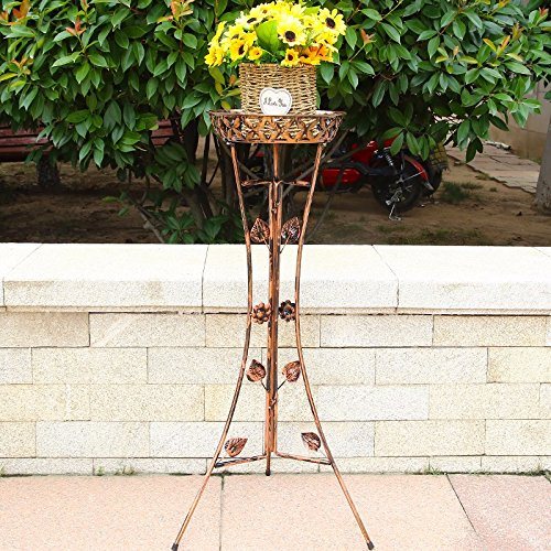 Multi-layer iron Flower Shelf floor balcony flower racks and indoor multi-purpose room flower racks, Capital Red Capital Shelf