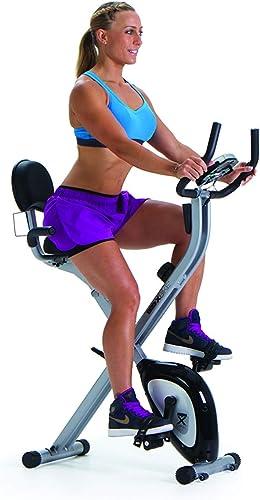 Duo X-Bike Magnetic Recumbent Upright Foldable Exercise Bike