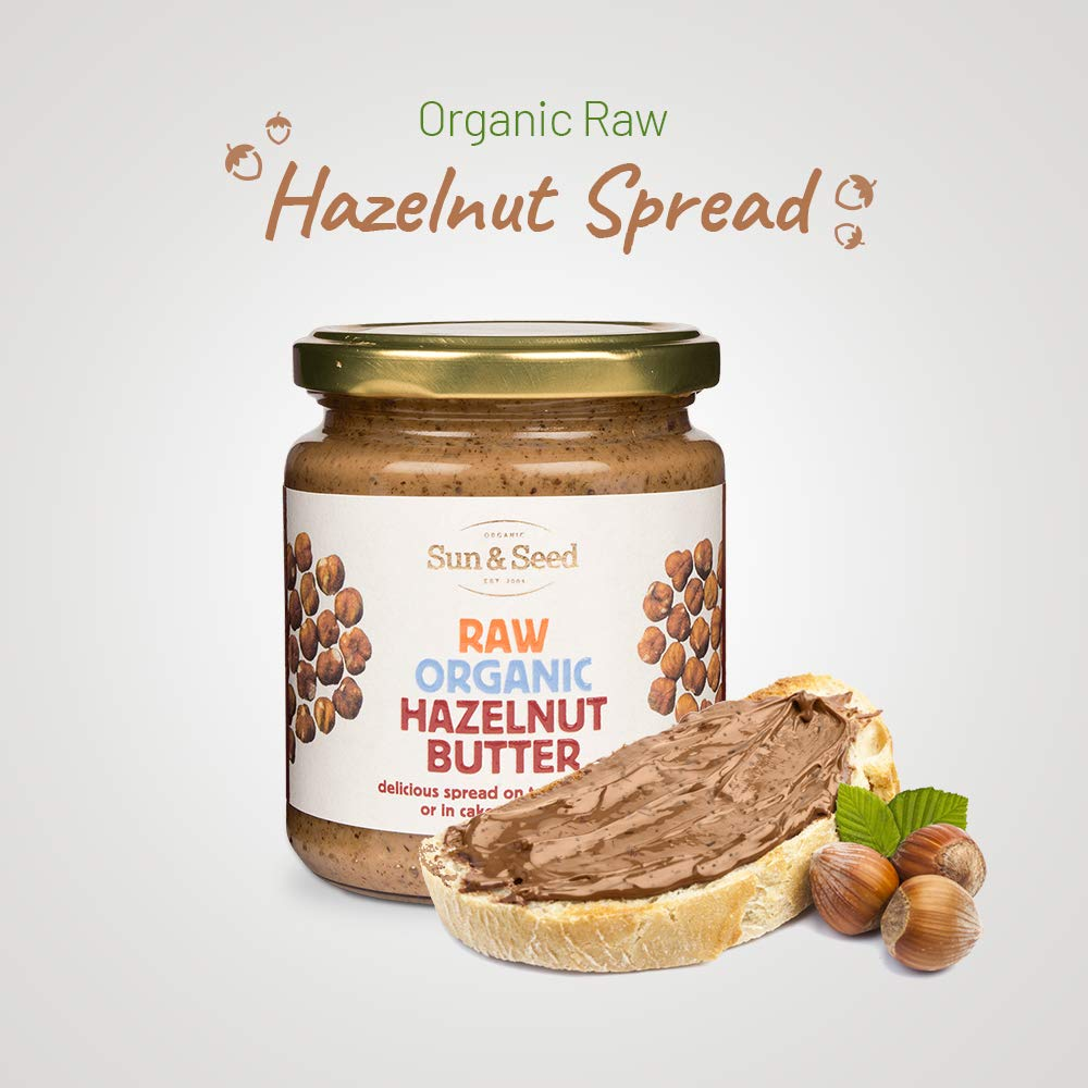 Sun and Seed – Organic Raw Hazelnut Butter Image