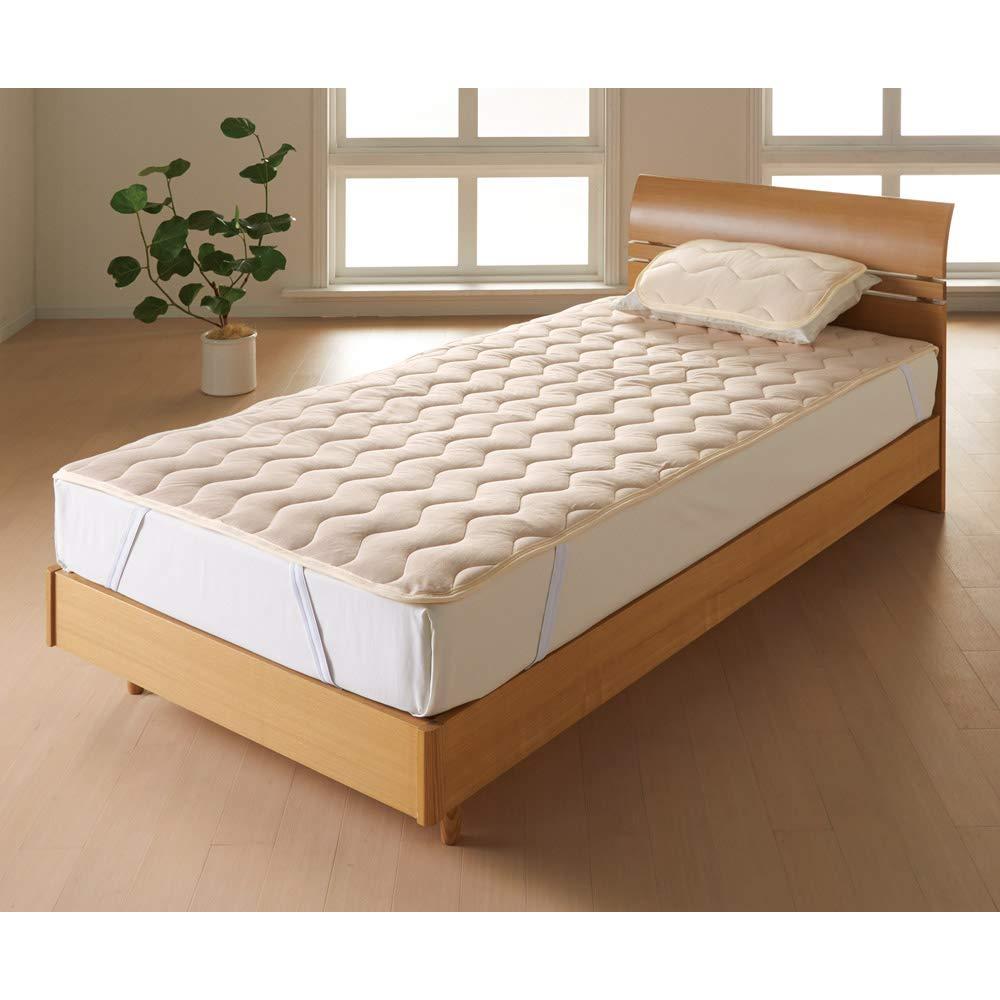 クイーン(家族の寝具のニオイ対策に!フレッシュ&ドライ消臭除湿敷きパッド 敷きパッド) 654507(サイズはありません イ:ベージュ) B07MG3BY3C イ:ベージュ