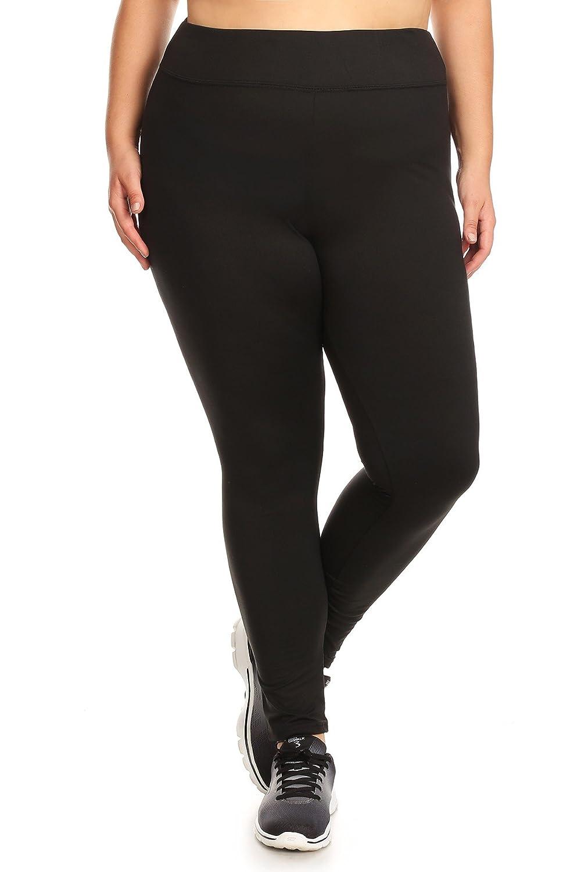 Womens Plus Size Leggings Sports Yoga Pants X6L17-01