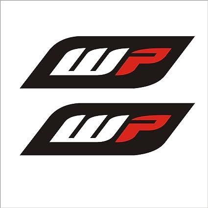 Isee360 wp sticker for ktm duke and other bike forks stumps suspension jumpers