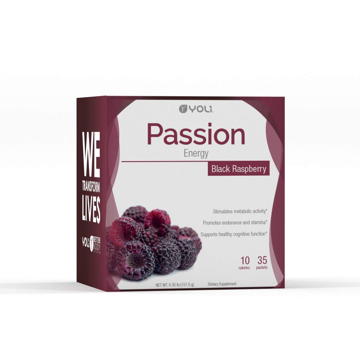 Yoli Passion Black Raspberry Packets Box