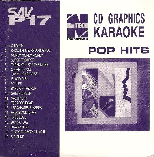 Nutech SAV-P#17 Karaoke CDG 19 Song Disk