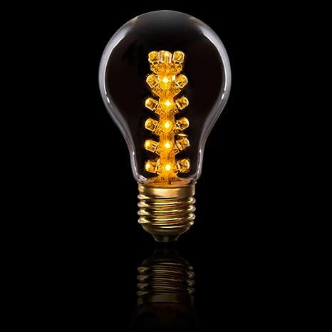 Amazon.com: Darice Cleveland Vintage Lighting 4-Tier E26 Base LED Edison Light Bulb - 0.9 Watts: Kitchen & Dining