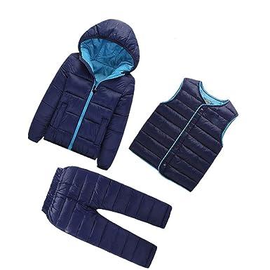 6fe4cad56f51 Amazon.com  3 Pcs 1Lot Winter Baby Girls Boys Clothes Sets Children ...