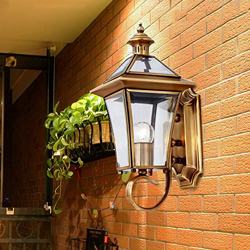 European Outdoor Wall Lighting
