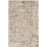 Cheap Safavieh Mirage Collection MIR755B Ivory and Beige Area Rug, 6′ x 9′