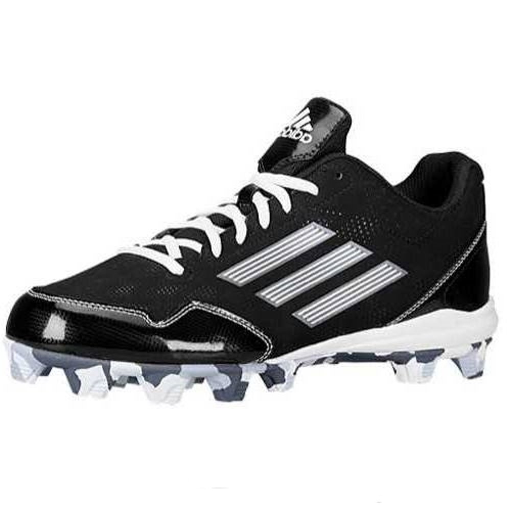 adidas Performance Men's Wheelhouse 2 Baseball Cleat, Black/White, 8 M US