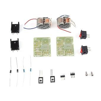 2pcs 15KV Generador de Alta Tensión Boost Módulo de Bobina de Encendedor de Arco Desmontado