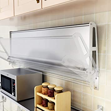 WENZHE - Estantería esquinera para Cocina, con Soporte de Pared Plegable, multifunción, 22 tamaños Opcionales: Amazon.es: Hogar