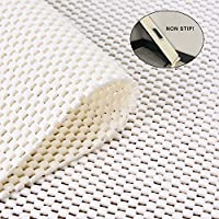 Jointop Non-Slip Area Rug Pad Gripper for Rugs Carpets On Any Hard Surface Floor Runner Extra Strong Grip Thick Padding,Available in Many Sizes(3 X 5)