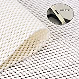 Jointop Non-Slip Area Rug Pad Gripper for Rugs Carpets On Any Hard Surface Floor Runner Extra Strong Grip Thick Padding,Available in Many Sizes(2' X 8')