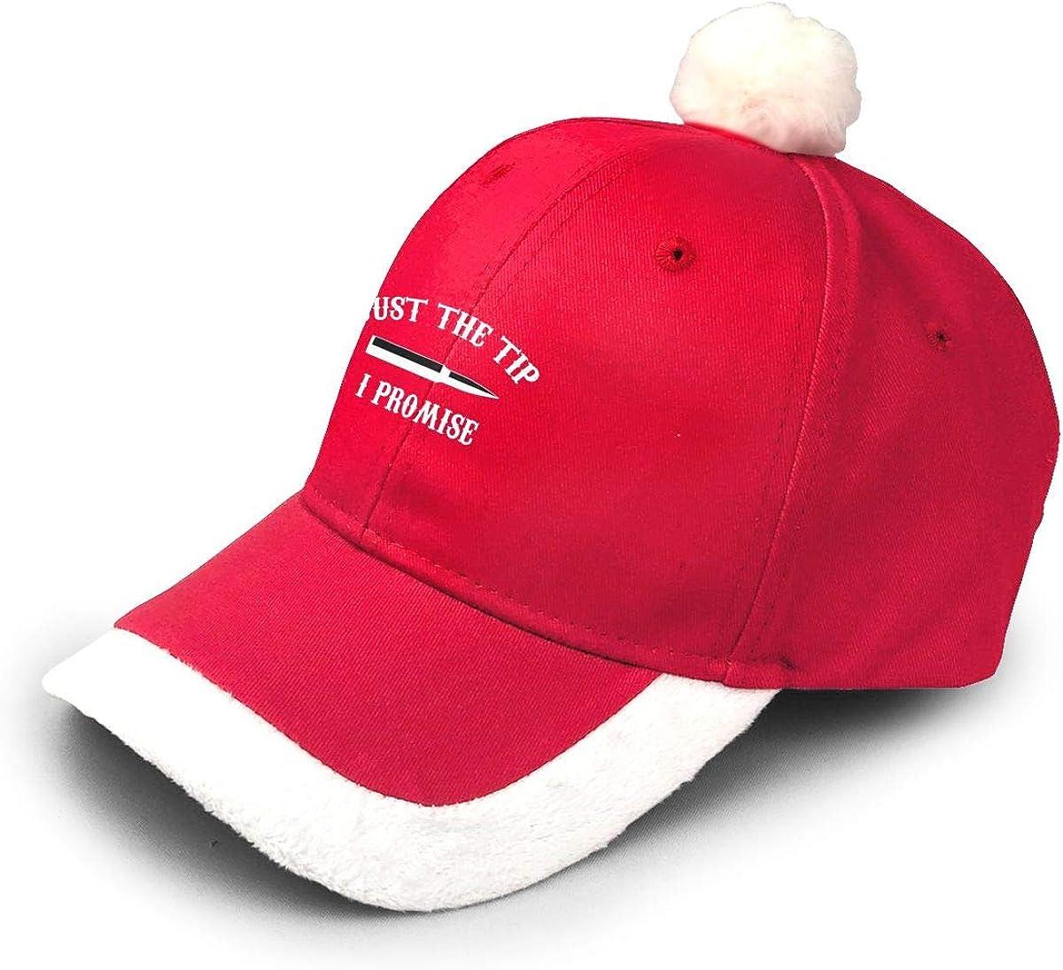 Suzen95 Just The Tip I Promise Fashionable Christmas Santa Baseball Cap|Christmas Accessory