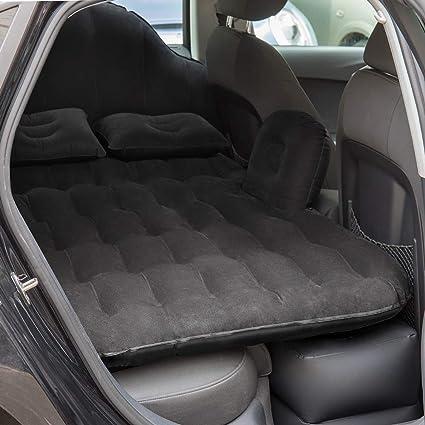 Amazon.com: NEX - Colchón inflable para coche, Negro: Automotive