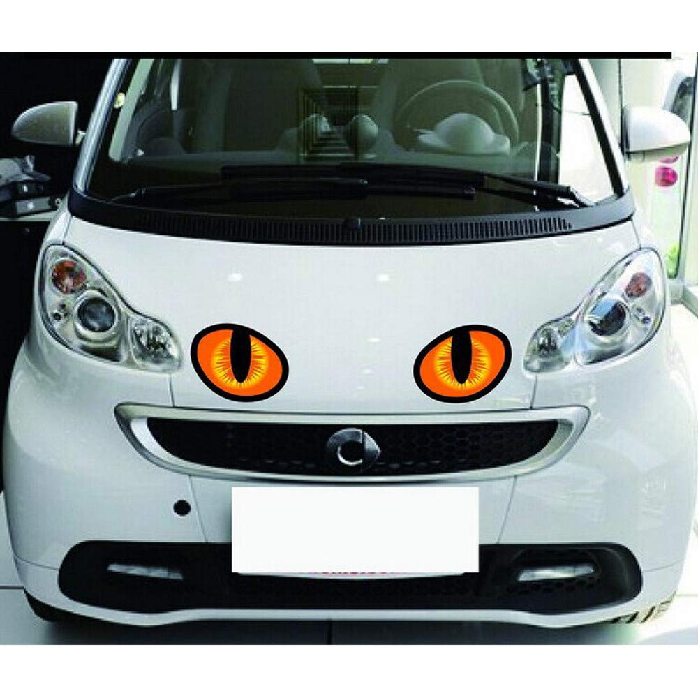 Car Stickers Decals Car Sticker 3DSimulation of The Cats Eyes Personalized Stickers