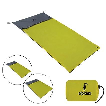 ALPIDEX Tienda de vivac Saco de vivac Mochila de Tipo vivac e Impermeable en Distintos tamaños para 1 o 2 Personas: Amazon.es: Deportes y aire libre