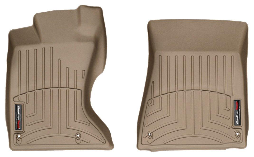 WeatherTech Custom Fit Front FloorLiner for Chevrolet Malibu Tan 452261