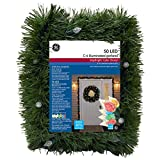 GE 25' Pre-Lit Indoor/Outdoor Pine Artificial Christmas Garland - Color Changing Lights