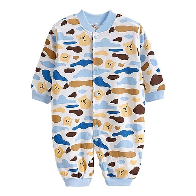 M & A - Pantalón de peto - Pelele - Manga Larga - para bebé niño