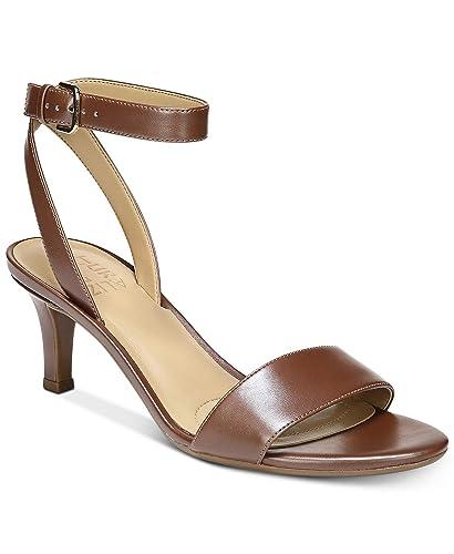 2e883eb500349 Amazon.com | Naturalizer Tinda Dress Sandals 6.5M Dark Brown ...