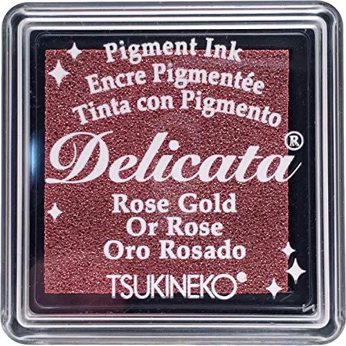 Tsukineko, Delicata, Small Ink Pad, Rose Gold