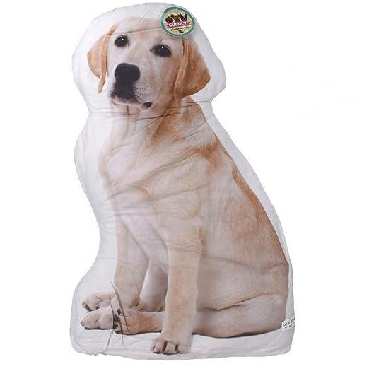 Cojín con forma de perro Golden Labrador: Amazon.es: Hogar